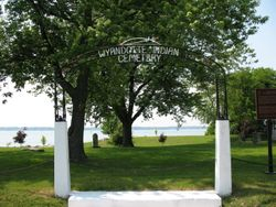 Entrance to Wyandotte Indian Cemetery