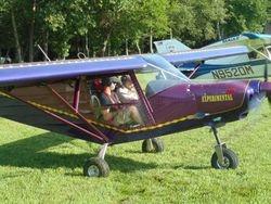 Jim Davis and Logan Welch before Passion flight