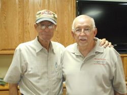 Jim Davis and Tom White