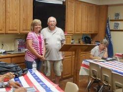Lisa Johnson and Tom White