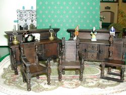 Since acquiring a couple of pieces, a sideboard and carver chair -