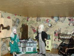 Later on Maximillian showed Beatrice the nursery....
