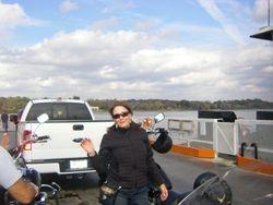 Bull, Bad Penny, KO & Beemer enjoying a day on the River Road