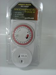 Mechanical Timer  Hvy Duty 24 Hr Ezi Plug