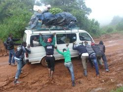 Volunteers to Nkambe