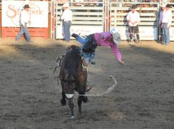 Forced dismount.