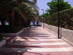 Put koji vodi na plazu