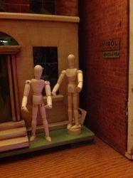 Cheap Wooden Dolls House Dolls