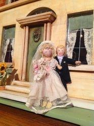 Here comes the bride.......