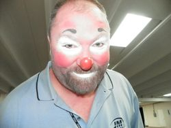 New look for a new clown