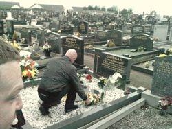 Martin Corrigans grave 2010