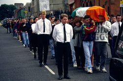 Conor Maguires funeral