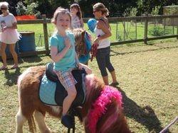 Jordan and Apollo @ Pony Express pony rides!