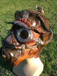 Steampunk Aviation Gasmask