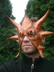 Steampunk Dragon Mask