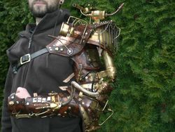 Custom order steampunk Arm