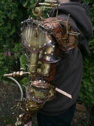 Custom order steampunk Arm back