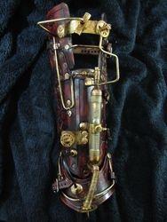 The Inducer steampunk cuff