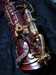 The Inducer Steampunk Bracer