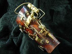 Lovecraft excalibur steampunk bracer