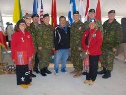 Red MNO Veteran Jackets in Borden 2017