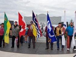 MNOVC representative at Batoche 2018