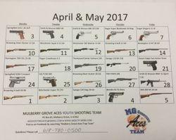 2017 Gun Raffle Flyer back
