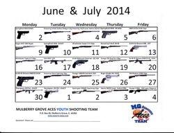 June & July 2014