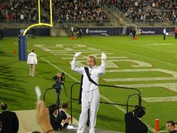 "UCONN drum Majorr Jillian used to be in ""OUR"" band!"