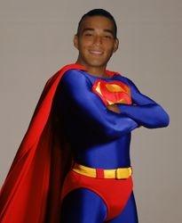 Derrick as Superman