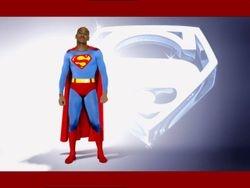 Felix as Superman