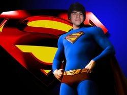 Frankie as Superman