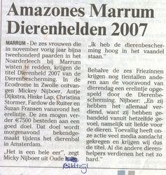 Dierenheld 2007