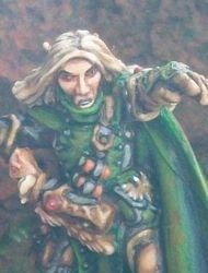 Elf Wizard from Reaper Miniatures