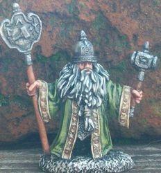 Dwarven Priest: Reaper Miniatures