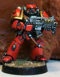 GW: Warhammer 40K Blood Angels Space Marines