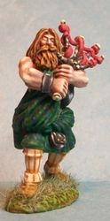 Highlander Bagpiper