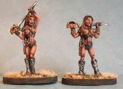 Red Martian Female Warriors