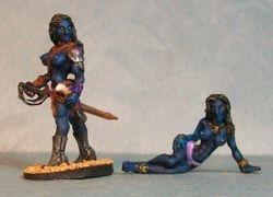 Female Black Pirates