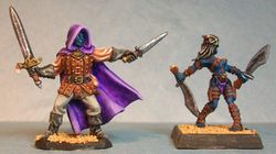 Male Assasin and Female Thief