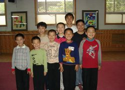 Mighty Kung Fu Students in Mainland China