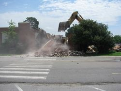 Old Main..gone.