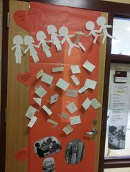 Interactive Kindness Classroom Door!