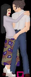 Kenichi and Sunako