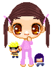 Badtime with Naruto dolls