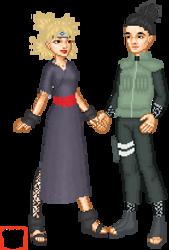 Shikamaru and Tameri from naruto