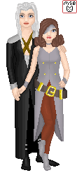 Sephiroth and Beatrix