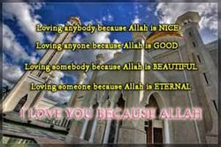 In Shaa Allah,if I love you....