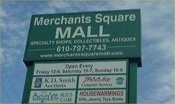 Merchant Square Mall sign