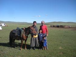 Mongolian Herders are Horseman